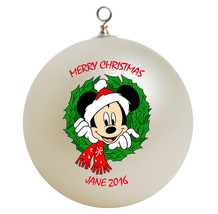 Personalized Mickey Mouse Christmas Ornament Gift, Add Name - $16.95