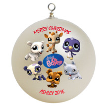 Personalized Littlest Pet Shop Christmas Ornament Gift - $16.95