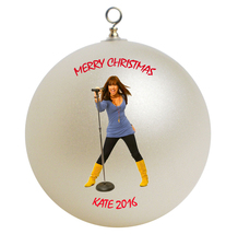 Personalized Demi Lovato Christmas Ornament Gift - $16.95