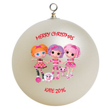 Personalized Lalaloopsy Christmas Ornament Gift - $24.95