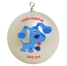 Personalized Blues Clues Christmas Ornament Gift - $24.95
