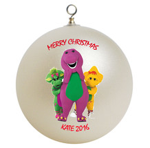 Personalized Barney and Friends Christmas Ornament Gift - $16.95