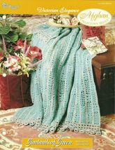 Needlecraft Shop Crochet Pattern 962320 Garlands Of Green Afghan Series - $4.99