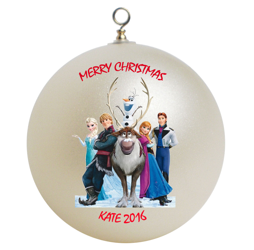 Personalized Frozen Christmas Ornament Gift - Ornaments