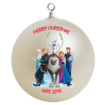 Personalized Frozen Christmas Ornament Gift - $16.95