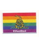 Shoot Back Gay Flag Patch novelty Item - $10.68