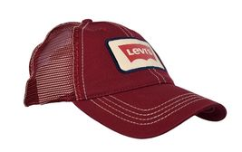 Levi's Men's Classic Adjustable Snapback Trucker Baseball Hat Cap image 14