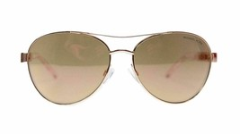 Michael Kors Aviator Women's Sunglasses MK5003 1003R1 Rose Gold 60mm Authentic - $105.00