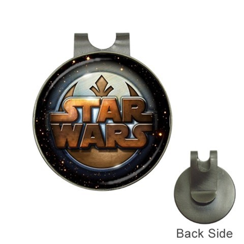 NEW Star Wars Logo Golf Ball Marker + Hat Clip