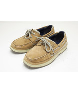 Sperry Top-Sider Lanyard Sz 4 Brown Boat Shoes Boy's EU 36 - $32.00