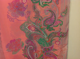 Paisley, Lines, Leopard Print Summer Sheer Fabric Multicolor Scarf, 6 colors image 6