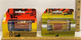 Vintage Matchbox Packaging Samples Deco Masters Cattle Truck & Horse Tra... - $50.06