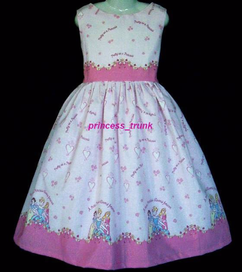 NEW Handmade Daisy Kingdom Tis the Season Christmas Dress Custom Size 12M-14Yrs