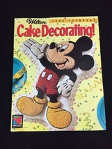 Wilton Cake Decorating 1996 Yearbook Magazine Mickey Unlimited Disney - $6.35