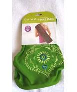 Gaiam Spiral Lily Mat Bag Pilates Yoga Green - $14.95