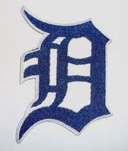 """Detroit Tigers Embroidered PATCH~3 1/2"""" x 2 5/8""""~Iron Sew On~MLB~Ships FREE - $4.71"""