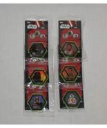 Star Wars Galatic Connexions Green Starfield Discs - Subway Set - $19.95