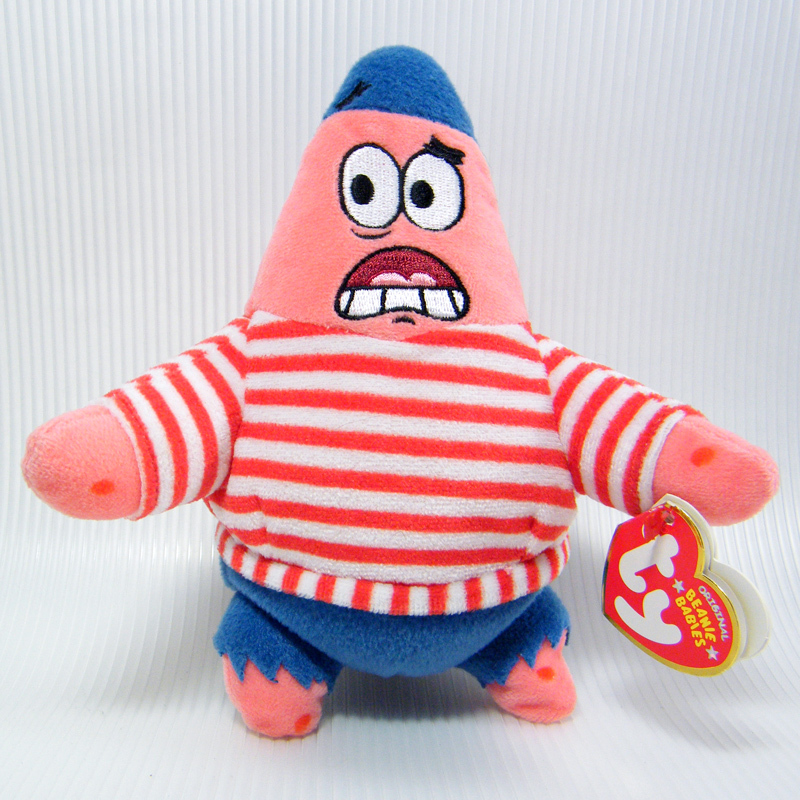 Ty Beanie Babies First Mate Patrick Star and 50 similar items 6fbc1d263e19