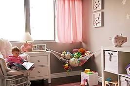 MiniOwls Toy Storage Hammock Large Organizer Wh... - $22.00