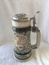 1978 Avon Lidded Beer Stein Trout Fishing Hunting English Setter - $11.50