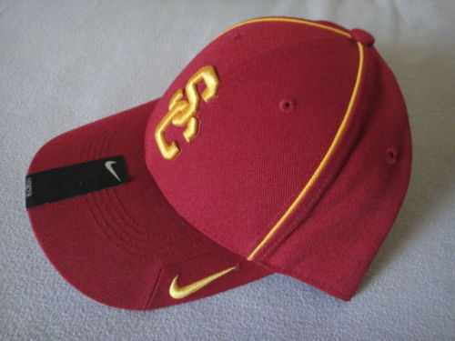 ba492eb282d S l500 19. S l500 19. Previous. New Nike Dri Fit USC Maroon Yellow Trim  Football Hat Cap NCCA  27796X Sz One