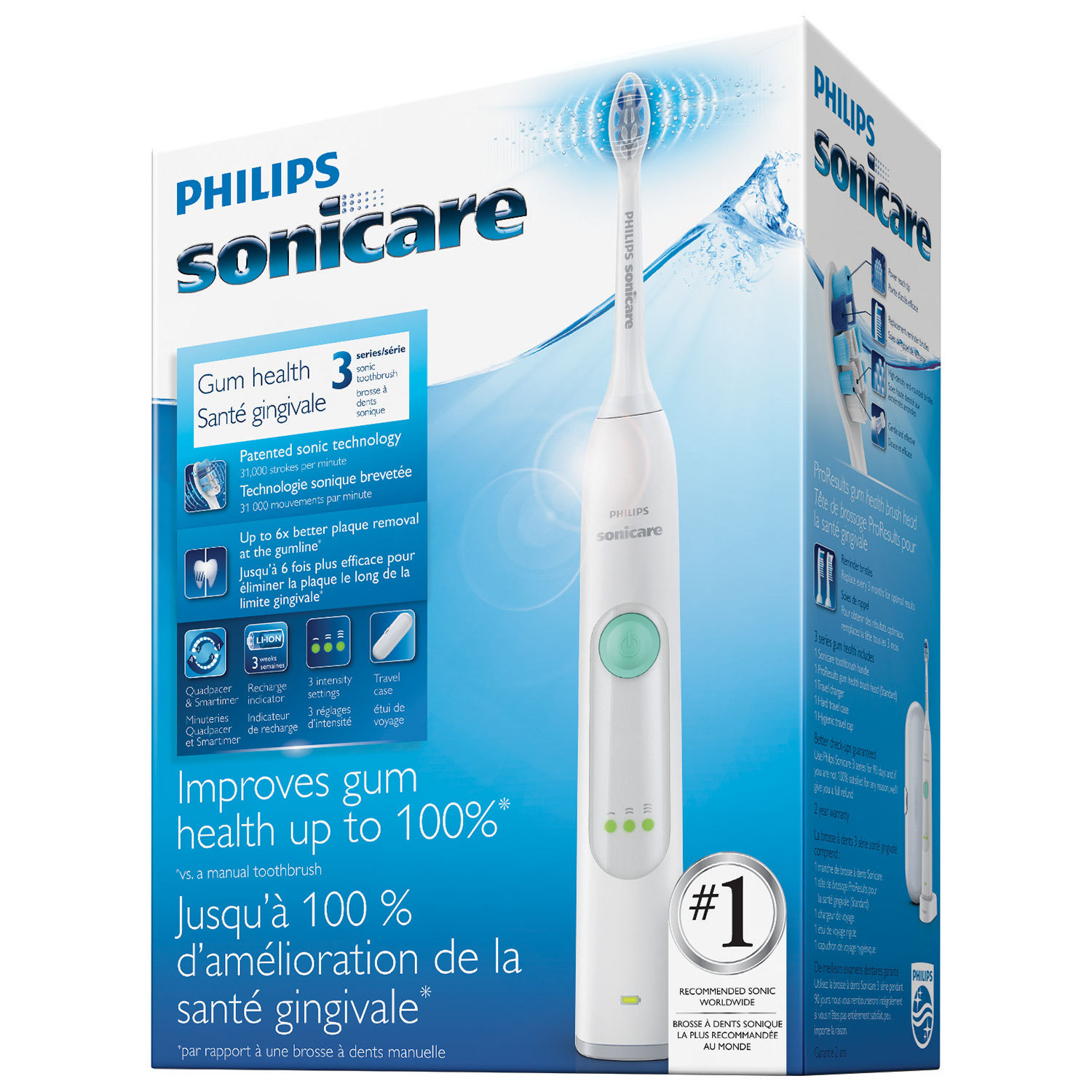 Philips Sonicare Hx6631 24 Gum Health Rechargeable Sonic