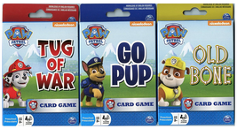Paw Patrol Card Game 3 Pack: Go Pup, Old Bone, and Tug of War  - $12.90