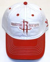 Adidas Women's HOUSTON ROCKETS Basic Slouch White Adjustable Cap - $15.00