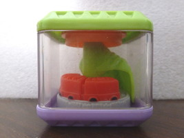 TOY Fisher Price PEEK A BLOCKS Train and Tunnel... - $2.59