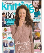 Simply Knitting UK Magazine 117 Sweaters Socks ... - $6.99