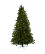 7.5' Rembrandt Christmas Tree w/Clear Lights Beautiful Holiday Home Decor  - $449.95