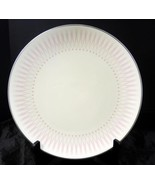 Retro Mid Century Royal Doulton Dinner Plate * Pink Radiance Pattern - $3.04