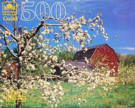 """500 Piece Puzzle """"Spring Blossoms"""" [Brand New] - $27.57"""