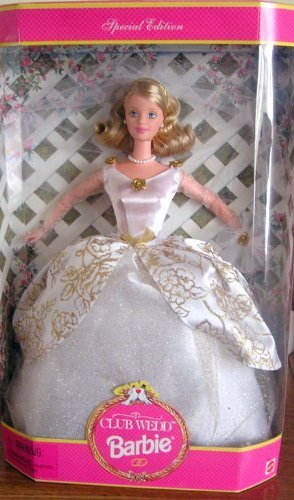 Primary image for Barbie Club Wedd Blonde 1997 Doll [Brand New]