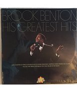 His Greatest Hits [Vinyl LP, Brand New] Brook Benton - $119.15