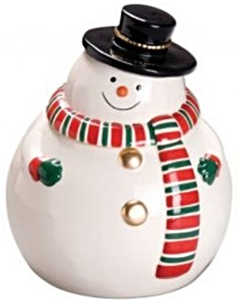 Primary image for Winter Snowman Cookie/Snack Jar [Brand New]