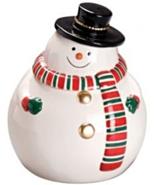 Winter Snowman Cookie/Snack Jar [Brand New] - $32.05