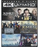 X-Men: First Class/Days of Future Past/Apocalypse (4K Ultra HD+Blu-ray) - $34.95