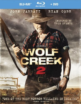 Wolf Creek 2 [Blu-ray + DVD] (2013)