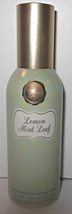 Bath & Body Works Home Room Spray 1.5 oz Lemon Mint Leaf - $29.99