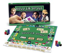 Hold'Em-Opoly Board Game [Monopoly Style Board Game ~ Brand New] - $45.75