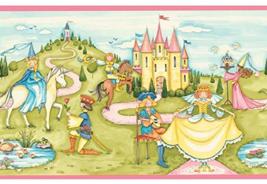 "Waverly Kids ""Pink Princess"" Wallpaper Border [Brand New] - $24.67"