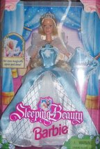 Barbie 1998 Sleeping Beauty Doll with Dress, Shoes 7 Musical Pillow [Bra... - $66.41