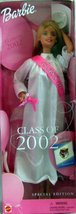 Barbie Class of 2002 Doll Special Edition [Brand New] - $47.26
