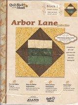 Joann Quilt Block of the Month Arbor Lane Collection #1 [Brand New] - $19.69