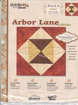 Joann Quilt Block of the Month Arbor Lane Collection #8 [Brand New] - $17.69