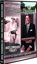 Ronald Reagan ~ 2 Movie's: Hollywood Years & Presidential Years [DVD, New] - $14.86