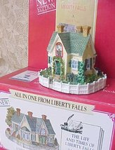 """Liberty Falls Americana Collection """"Reverend Muir's Cottage"""" [Brand New] - $37.19"""