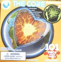 """101 Piece Glow In The Dark Puzzle """"The Core"""" [Brand New] - $9.67"""