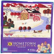 "1000 Piece Jigsaw Puzzle ""Winter in Maine"" [Brand New] - $23.69"